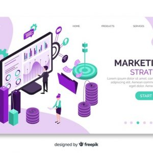 marketing-strategy-isometric-landing-page_23-2148280406